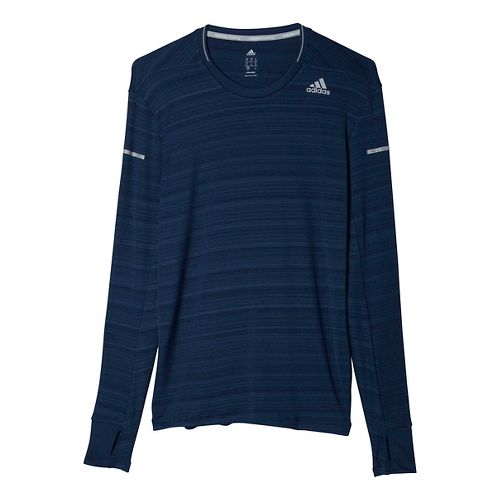 Men's adidas�Sequencials Heathered Long Sleeve Tee