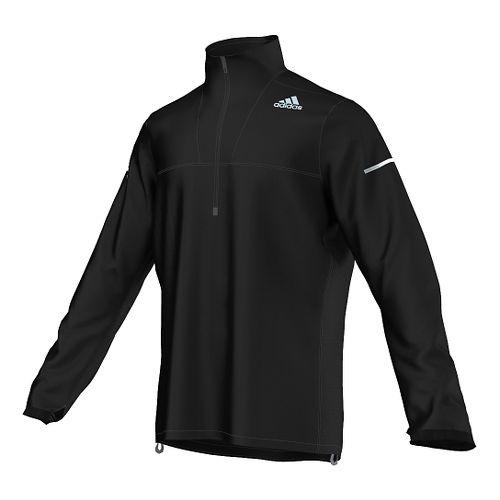 Mens adidas Sequencials Anorak Outerwear Jackets - Black XXL