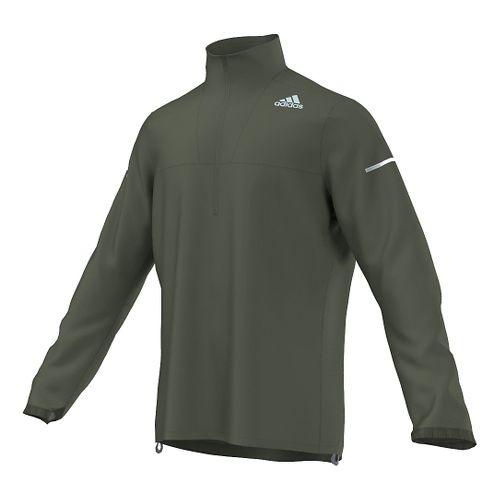 Mens adidas Sequencials Anorak Outerwear Jackets - Base Green L