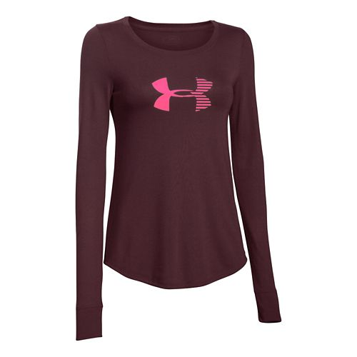 Women's Under Armour�Stripe Logo Longsleeve
