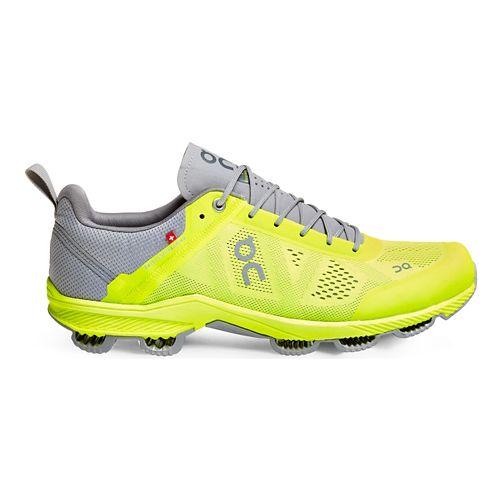 Mens On Cloudsurfer 3 Running Shoe - Neon/Grey 7