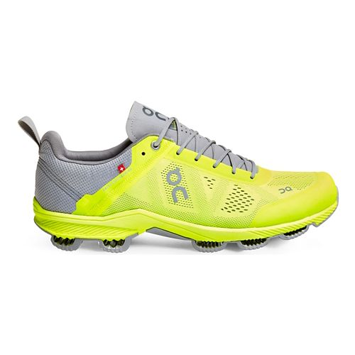 Mens On Cloudsurfer 3 Running Shoe - Neon/Grey 8
