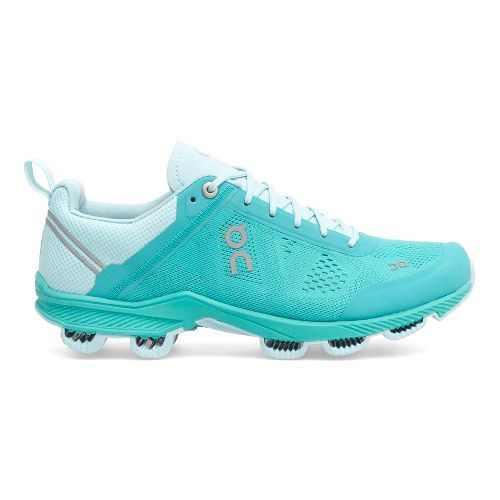 Womens On Cloudsurfer 3 Running Shoe - Turquoise 9