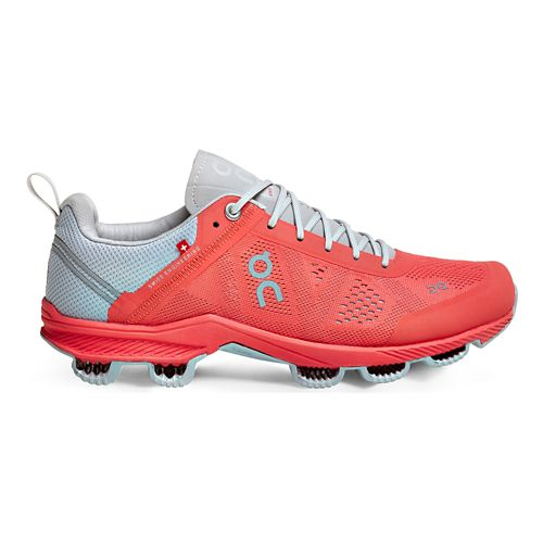 Womens On Cloudsurfer 3 Running Shoe - Lava/Grey 6.5