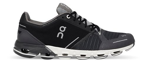 Mens On Cloudflyer Running Shoe - Black/White 11