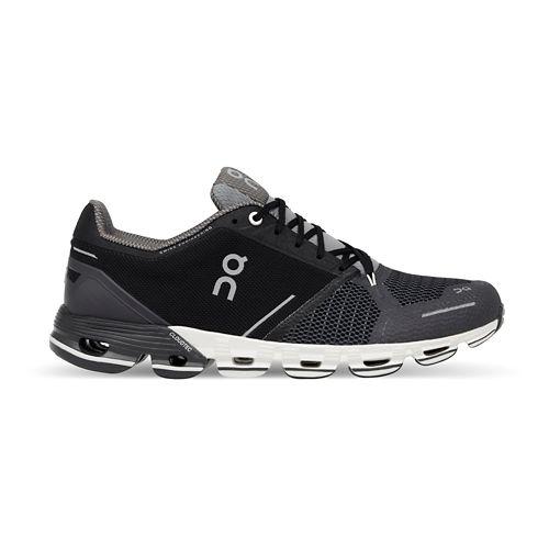 Mens On Cloudflyer Running Shoe - Black/White 7.5