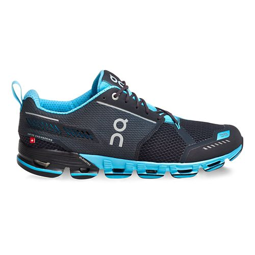 Mens On Cloudflyer Running Shoe - Iron/Sky 14