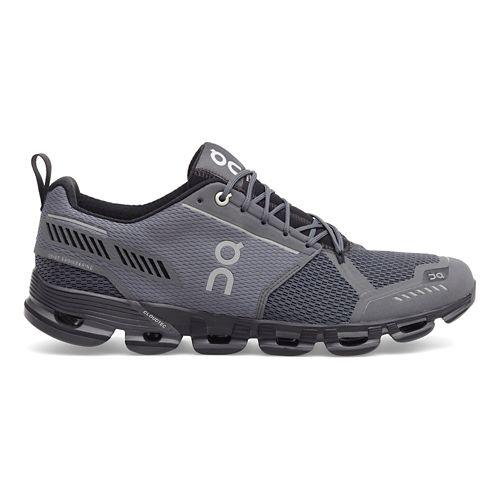 Mens On Cloudflyer Running Shoe - Rock/Black 8.5