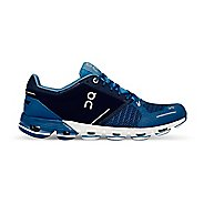 Mens On Cloudflyer Running Shoe - Blue/White 12.5