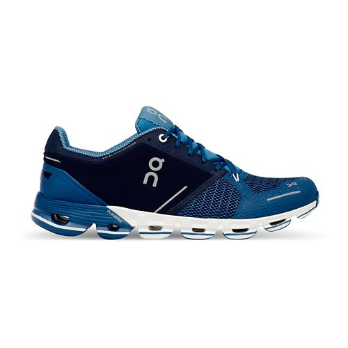 Mens On Cloudflyer Running Shoe - Blue/White 8