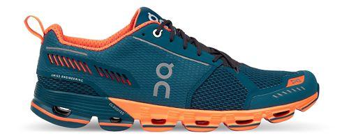 Mens On Cloudflyer Running Shoe - Storm/Orange 12.5