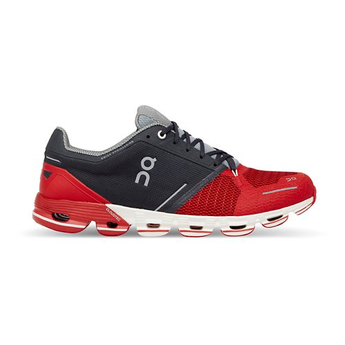 Mens On Cloudflyer Running Shoe - Red/White 8