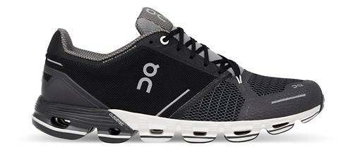 Womens On Cloudflyer Running Shoe - Black/White 11