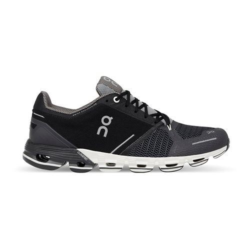 Womens On Cloudflyer Running Shoe - Black/White 10