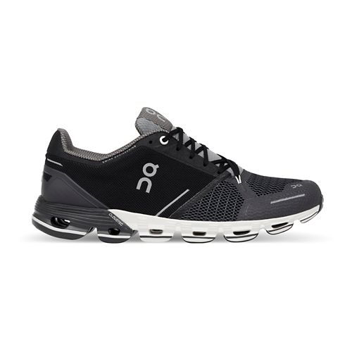 Womens On Cloudflyer Running Shoe - Black/White 6