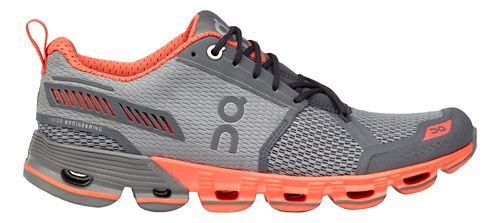 Womens On Cloudflyer Running Shoe - Slate/Flash 7.5