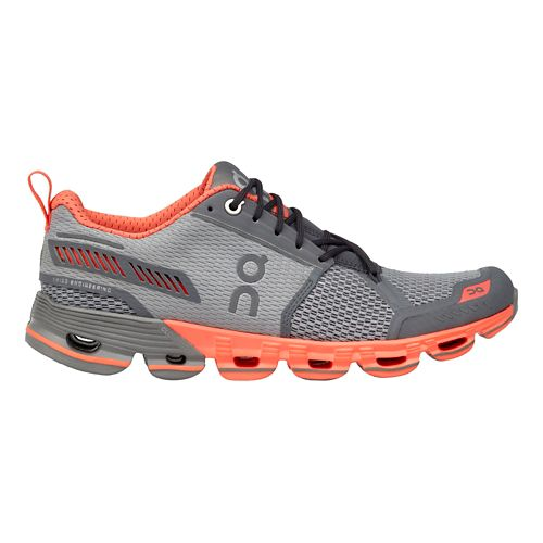 Womens On Cloudflyer Running Shoe - Slate/Flash 8.5