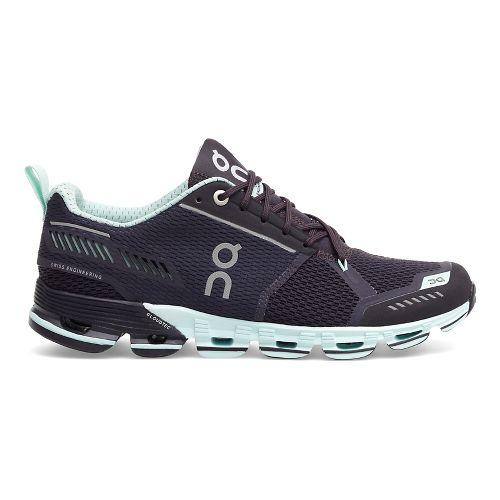 Womens On Cloudflyer Running Shoe - Grey/Mint 11