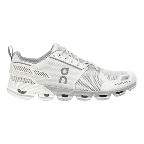 Womens On Cloudflyer Running Shoe - White/Crystal 7