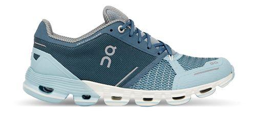 Womens On Cloudflyer Running Shoe - Aqua/Crystal 8