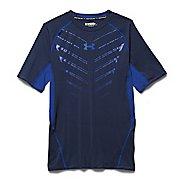 Mens Under Armour HeatGear EXO Compression Shirt Short Sleeve Technical Tops