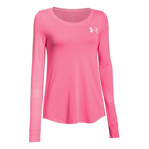 Women's Under Armour�Stripe Wordmark Longsleeve Crew