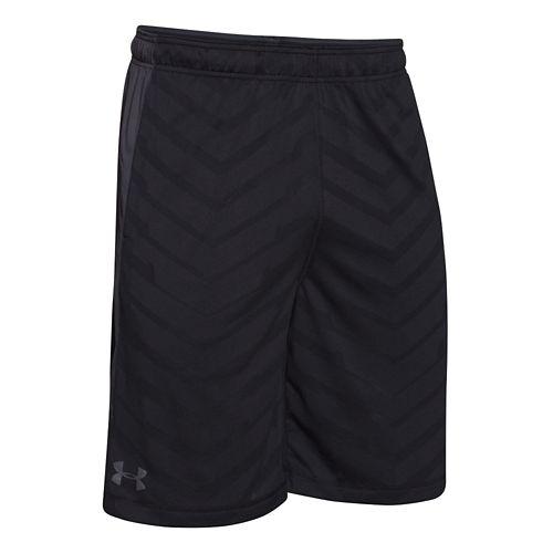 Mens Under Armour EXO Raid Unlined Shorts - Black/Grey XL