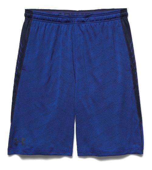 Mens Under Armour EXO Raid Unlined Shorts - Cobalt/Academy L