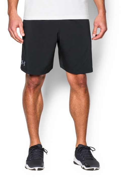 Mens Under Armour Hiit Woven Compression & Fitted Shorts - Black/Steel S