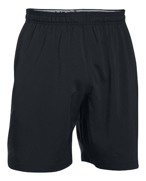 Mens Under Armour Hiit Woven Compression & Fitted Shorts - Black M
