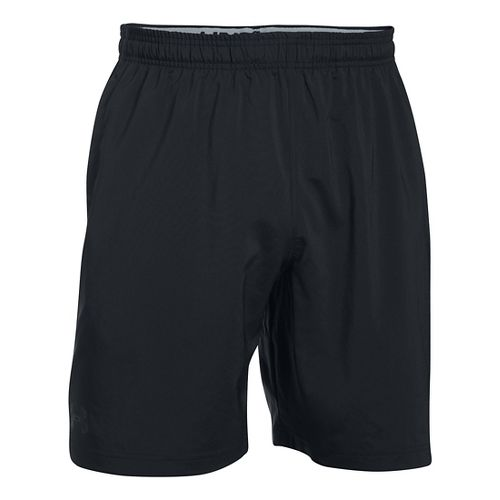 Mens Under Armour Hiit Woven Compression & Fitted Shorts - Black XL