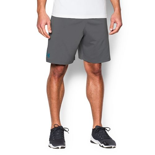 Mens Under Armour Hiit Woven Compression & Fitted Shorts - Graphite L