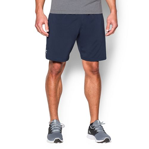 Mens Under Armour Hiit Woven Compression & Fitted Shorts - Midnight Navy L
