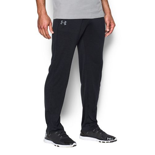 Mens Under Armour Tech Pants - Black/Black L