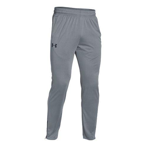 Mens Under Armour Tech Pants - Steel XL