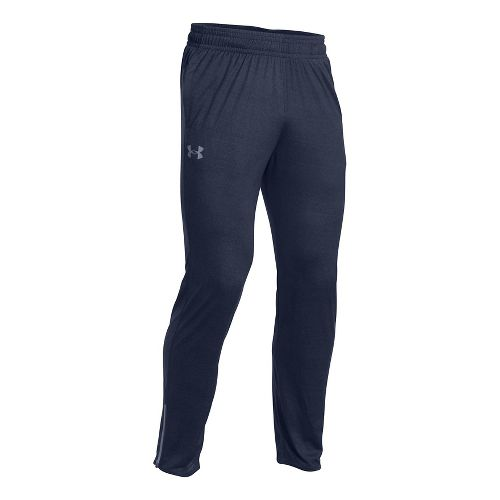 Mens Under Armour Tech Pants - Midnight Navy S