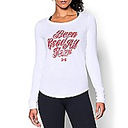 Womens Under Armour Been Good Long Sleeve Technical Tops