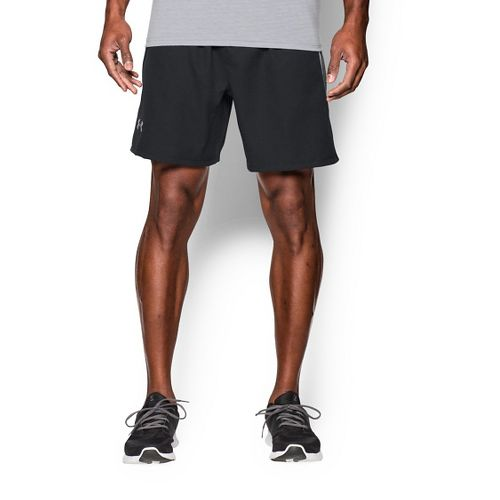 Mens Under Armour Coolswitch Run Compression & Fitted Shorts - Black/Grey S