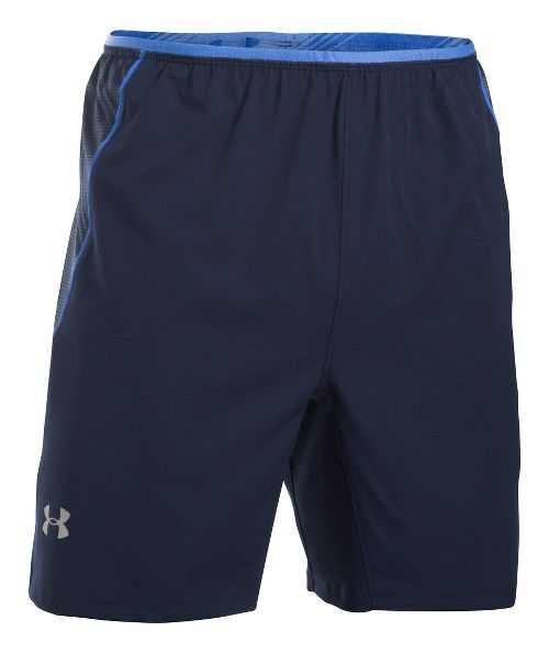 Mens Under Armour Coolswitch Run Compression & Fitted Shorts - Midnight Navy M