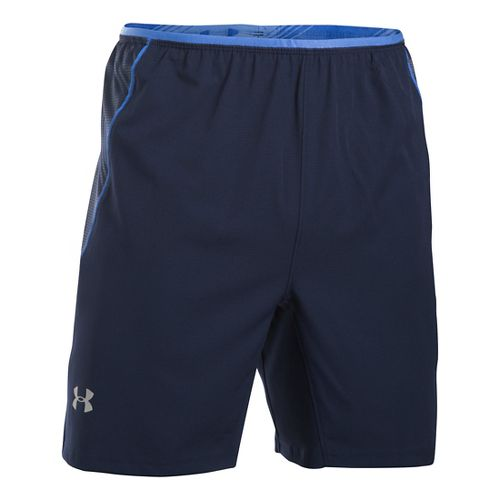 Mens Under Armour Coolswitch Run Compression & Fitted Shorts - Midnight Navy L