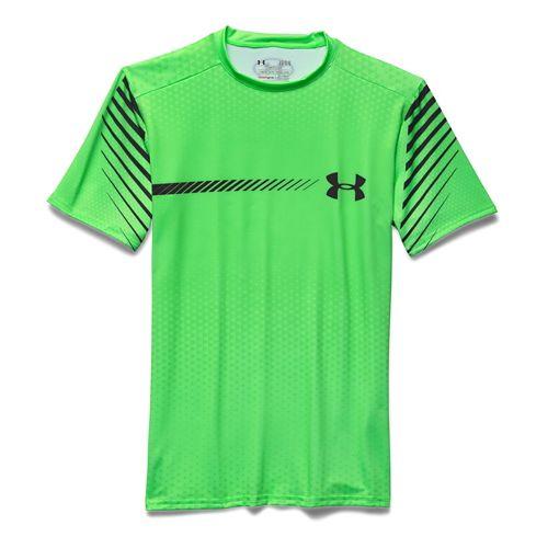 Men's Under Armour�Heatgear Armour Branded Shortsleeve Compression Shirt