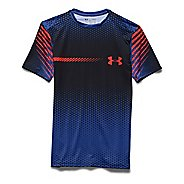 Mens Under Armour HeatGear Branded Compression Shirt Short Sleeve Technical Tops