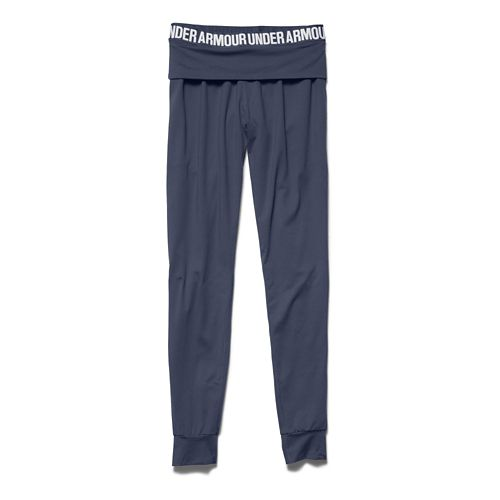 Womens Under Armour Downtown Knit Jogger Pants - Mechanic Blue XS
