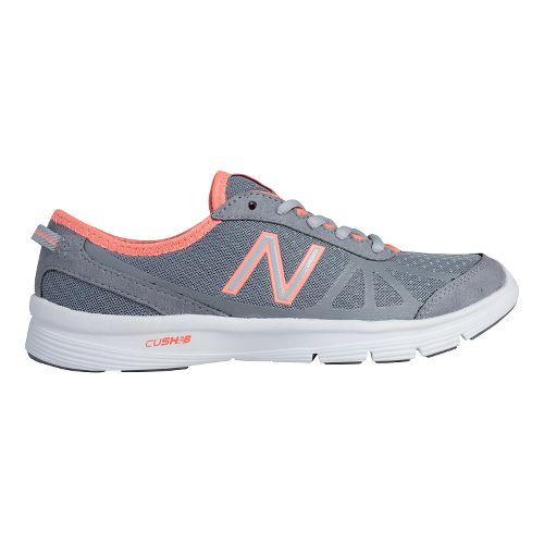 Womens New Balance 511v1 Cross Training Shoe - Grey/Pink 9.5