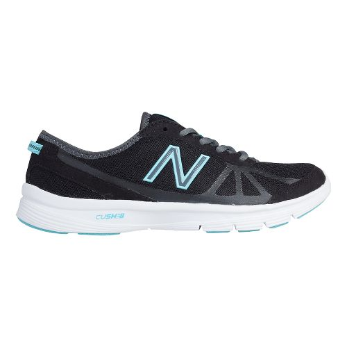 Womens New Balance 511v1 Walking Shoe - Black/Light Blue 9.5