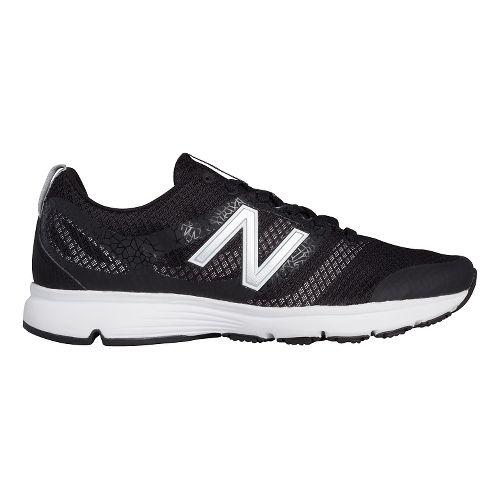 668v1 Cross Training Shoe - Black/White 7.5