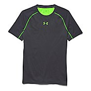 Mens Under Armour Heatgear ArmourVent Compression Shirt Short Sleeve Technical Tops