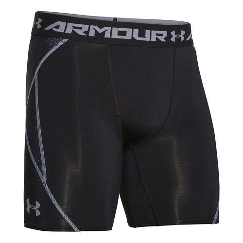 Mens Under Armour Heatgear ArmourVent Compression Short Boxer Brief Underwear Bottoms - ...