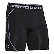 Mens Under Armour Heatgear ArmourVent Compression Short Boxer Brief Underwear Bottoms