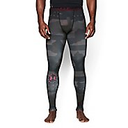 Mens Under Armour Freedom USA Compression Legging Full Length Tights
